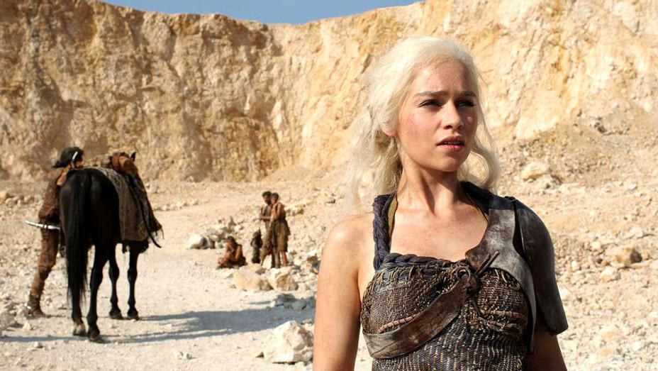 Game of Thrones Season Two -Emilia Clarke as Daenerys Targaryen i- Publicity-H 2017