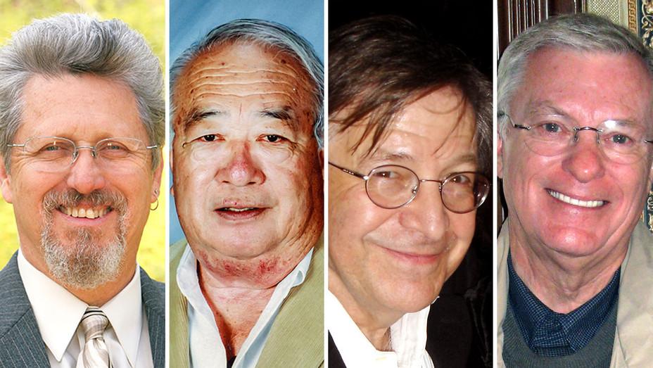 Honorees - John Moffitt -James J. Murakami- Martin Kline-Norm Newberry-Split-H 2017