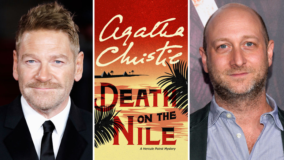 Kenneth Branagh, Death on the Nile Cover and Michael Green - Split - Getty - H 2017