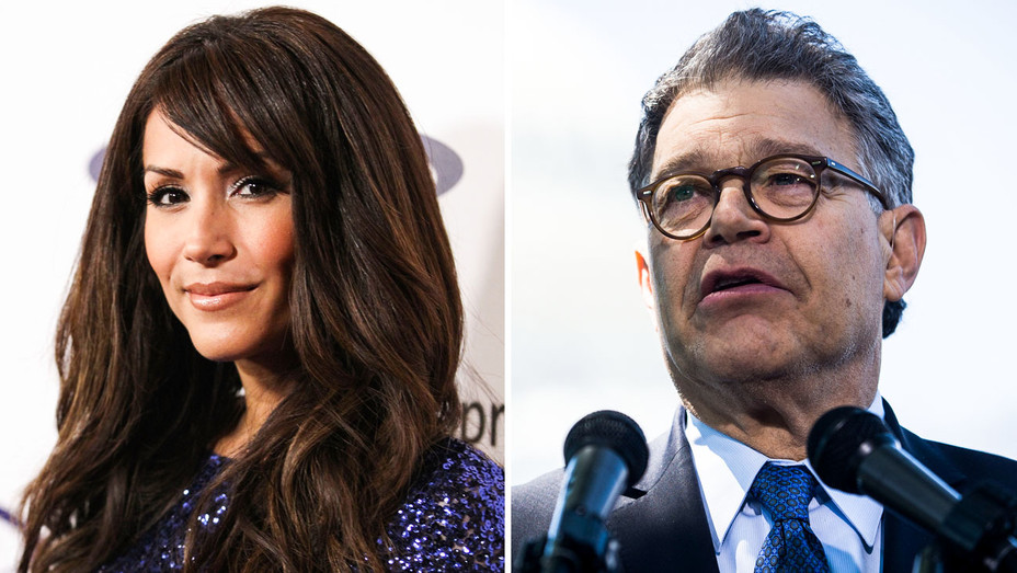 Leann Tweeden and Al Franken - Split - Getty - H 2017