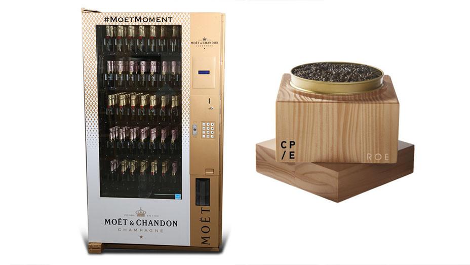 Moet Vending Machine and Roe Caviar - Split - Publicity - Embed 2017