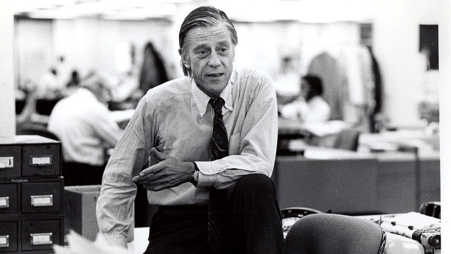 The Newspaperman Still 1 -Ben Bradlee in the Washington Post -Publicity-H 2017