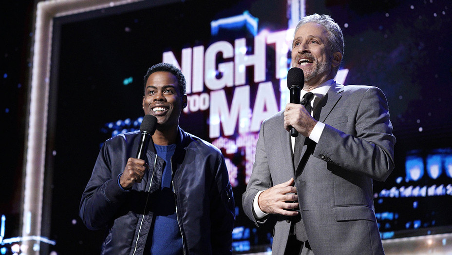 Night of Too Many Stars -Chris Rock and Jon Stewart - Publicity-H 2017