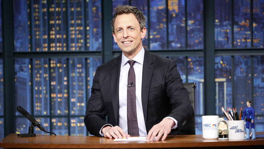 Late Night Host -Seth Meyers NBC - Publicity 2 - H 2017