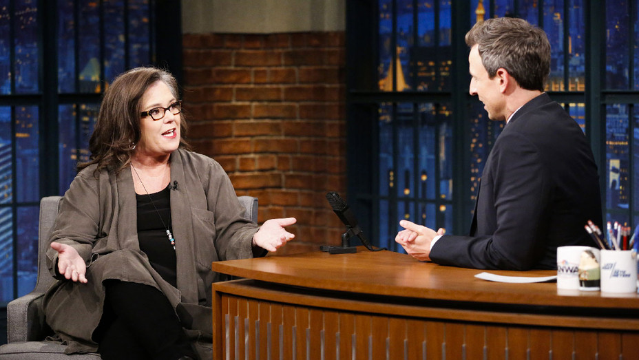 Late Night with Seth Meyers Still Rosie O'Donnell - Publicity - H 2017