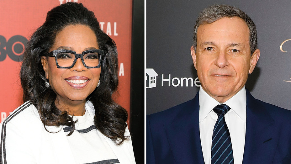 Oprah and Bob Iger Split- Getty-H 2017