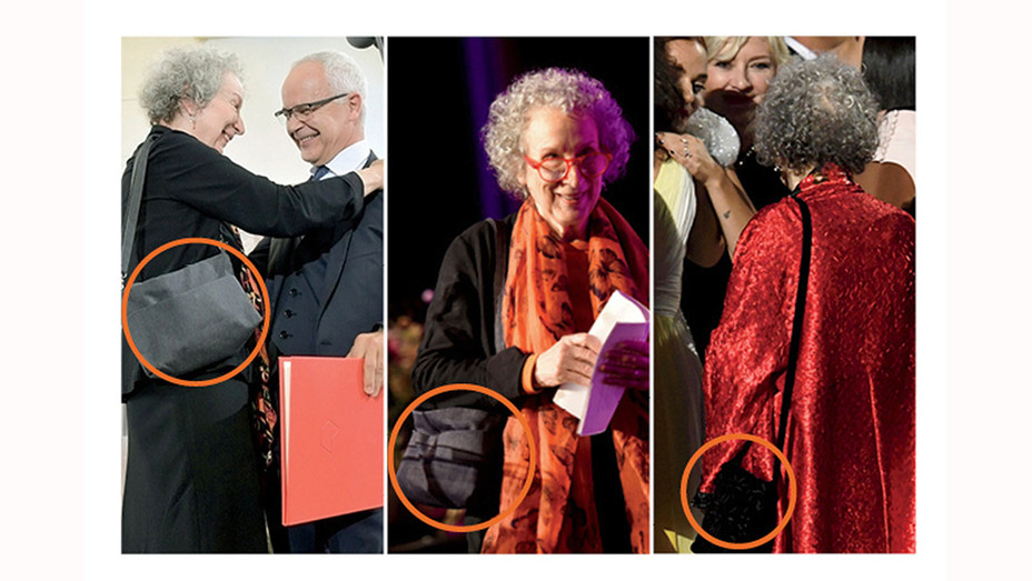 Margaret Atwood - purse - Graphic -Getty-H 2017