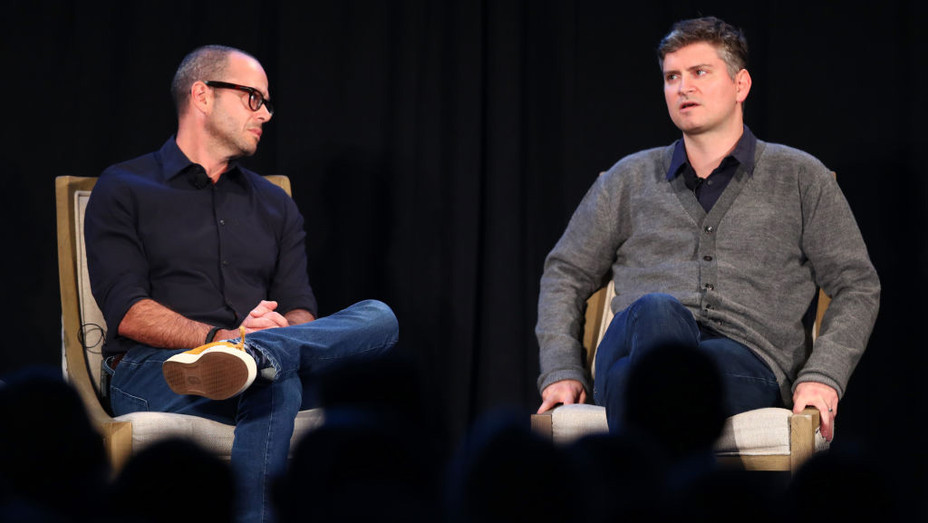 Damon Lindelof & Mike Schur Vulture Fest - H 2017 Getty