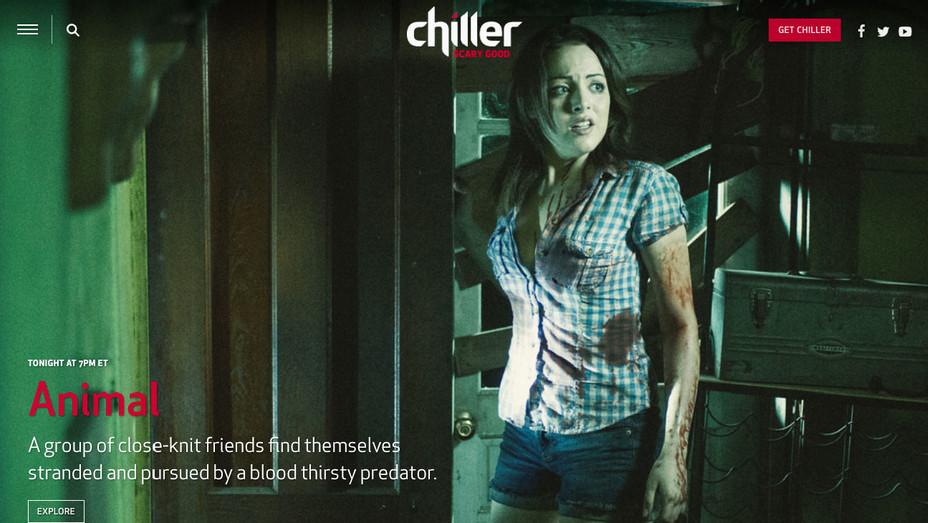 Chiller TV Homepage - Screenshot - H 2017