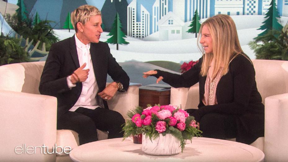 The Ellen Show Barbra Streisand Appearance - Screenshot - H 2017