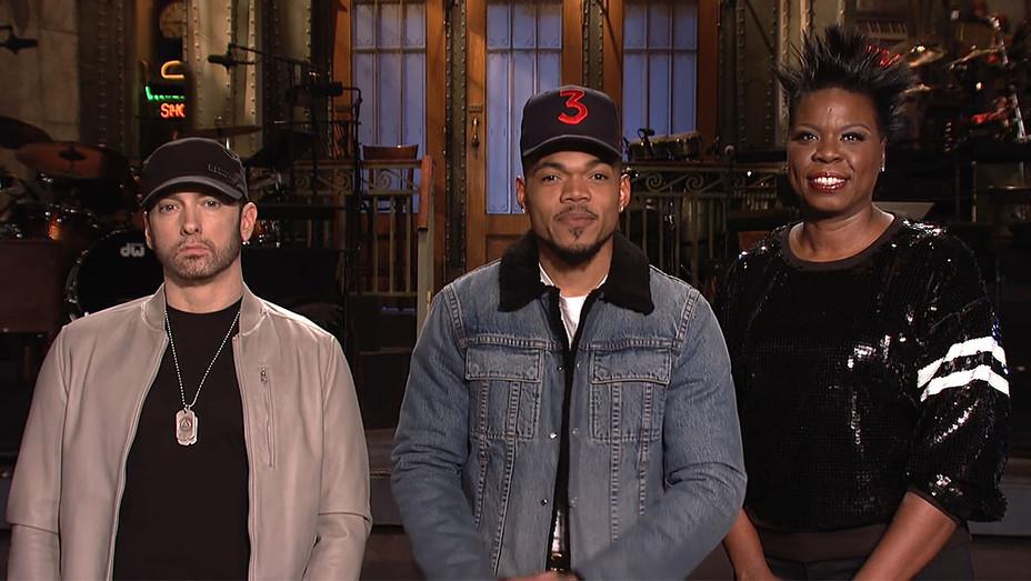 SNL Promo_Eminem_Chance the Rapper_Leslie Jones - Publicity - H 2017