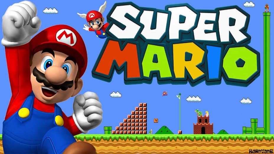 Super Mario Video Game Cover - Publicity - H 2017