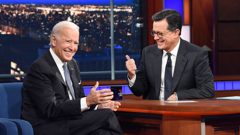 The Late Show with Stephen Colbert and guest Joe Biden - Publicity - H 2017