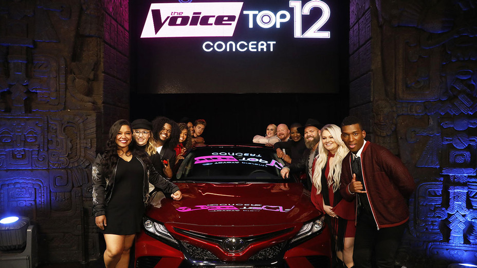 The Voice Season 13 - Top 12 - Publicity - H 2017