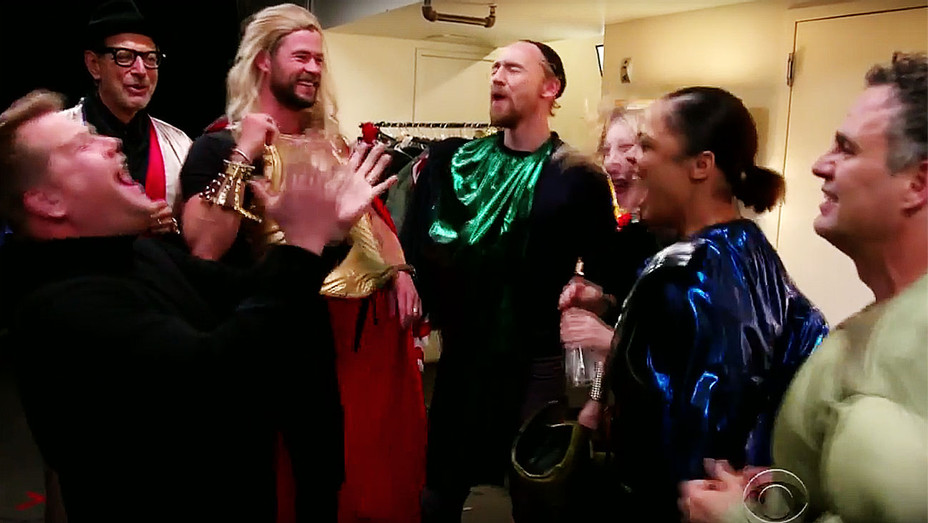 Thor- Ragnarok 4D with the Thor Cast - Screen shot -H 2017