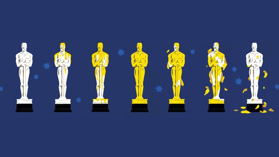 Oscars Color Shutout Illustration - H 2017