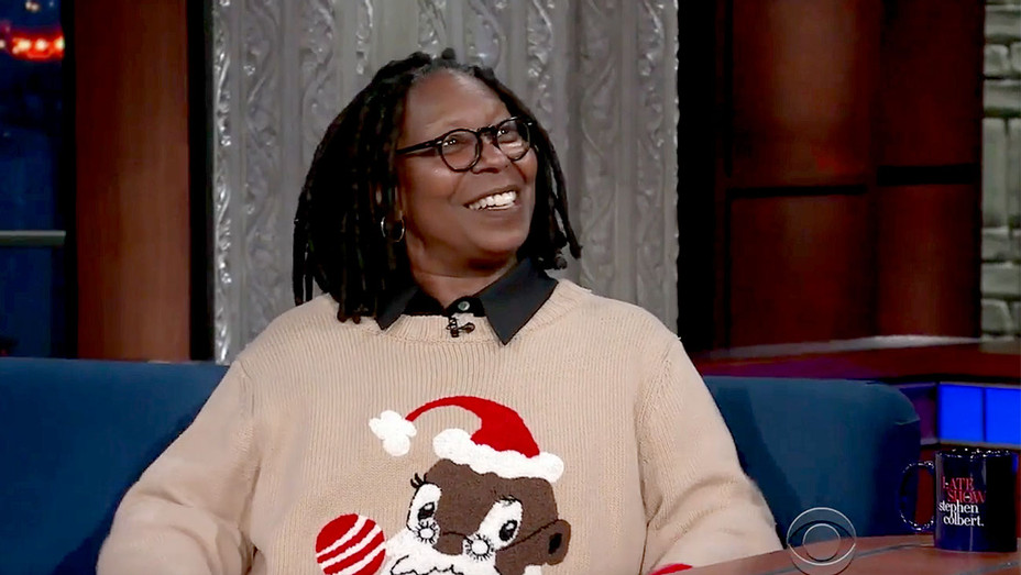 Whoopi Goldberg on The Late Show with Stephen Colbert Screen shot-H 2017