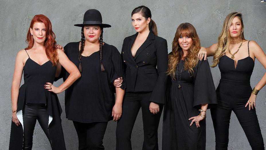 Michelle Pesce, Ana Calderon, Daisy O'Dell, Kate Mazzuca and Pamela Francesca - Publicity - H 2017