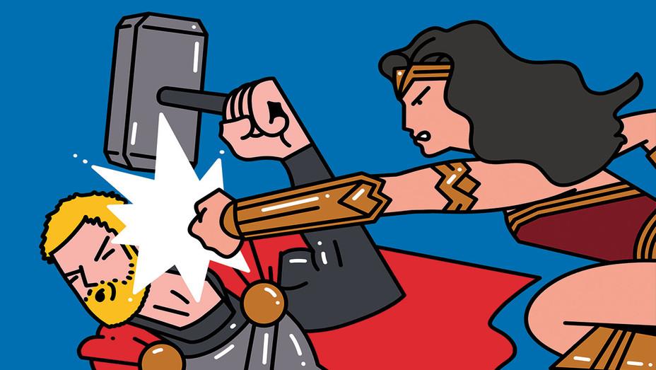 Wonderwoman_Punching_Thor_Illo - THR - H 2017