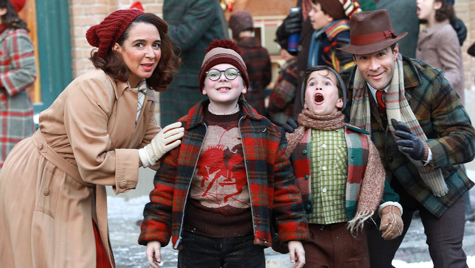 A CHRISTMAS STORY LIVE -Maya Rudolph, Andy Walkin, Tyler Wladis and Chris Diamantopoulos- Publicity-H 2017