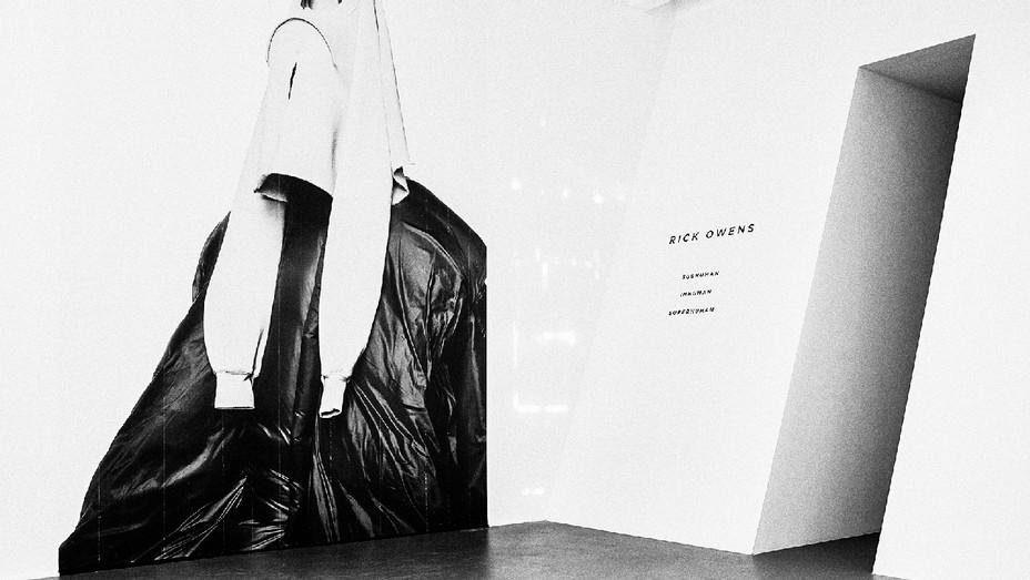 Rick Owens Retrospective Exhibition - Publicity - H 2017