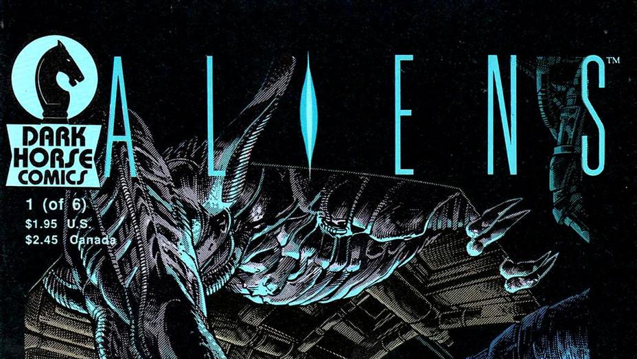 Aliens Outbreak Cover -Dark Horse Comics - Publicity- P 2017