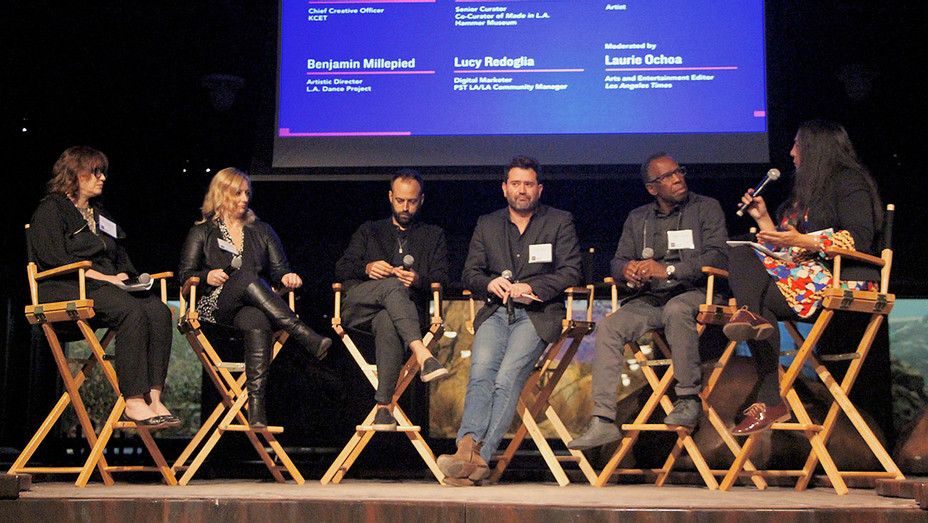 Anne Ellegood, Lucy Redoglia, Benjamin Millepied, Juan Devis, Charles Gaines, Laurie Ochoa - Publicity - H 2017