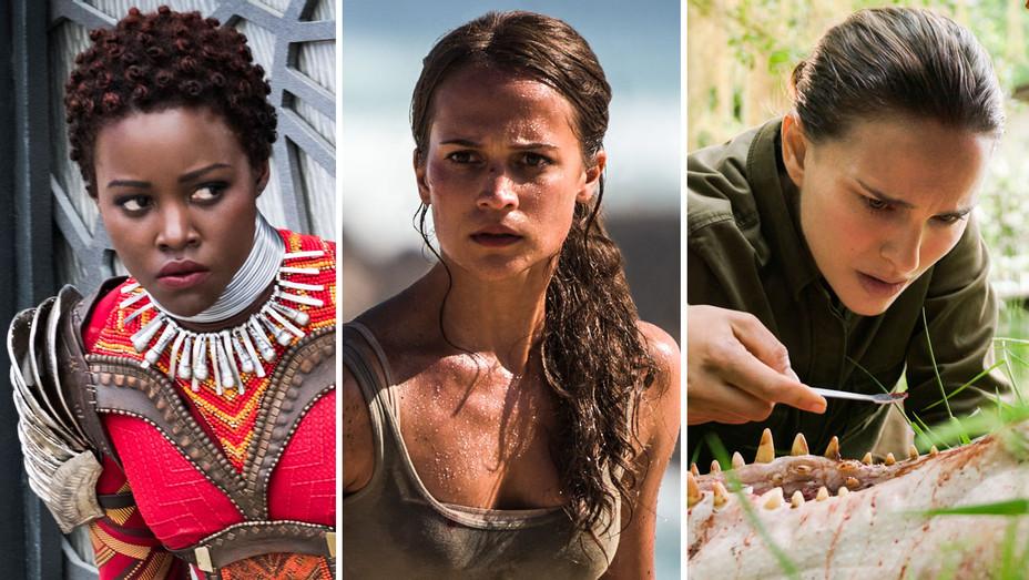 Black Panther, Tomb Raider and Annihilation Still - Split - Publicity - H 2017