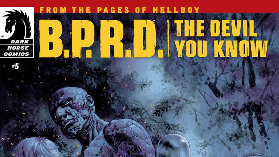 BPRD Devil No. 5 Cover - Publicity - P 2017