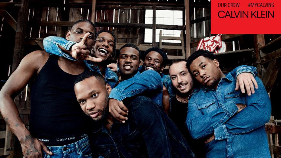 Calvin Klein A$AP Mob Crew - Publicity - H 2017