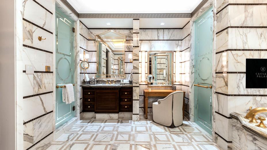 Caesars Palace PalaceTower Grecian Villa Bathroom -Publicity-H 2017