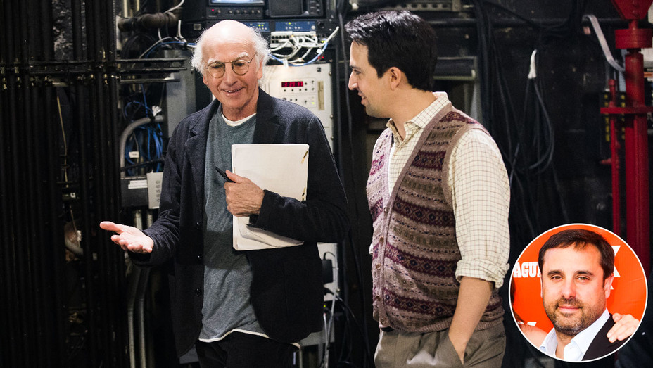 Curb Your Enthusiasm Still 3 and Jeff Schaffer - Inset - Getty - H 2017