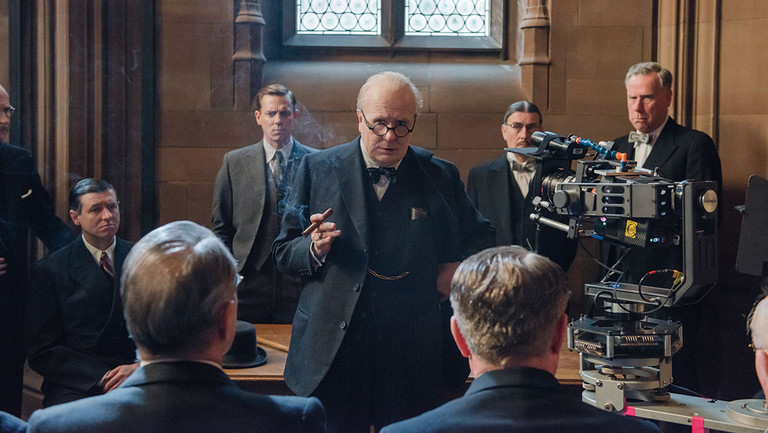 How 'Darkest Hour's' Grand Transformation of Gary Oldman Into Winston Churchill Took $20,000 Worth of Cigars