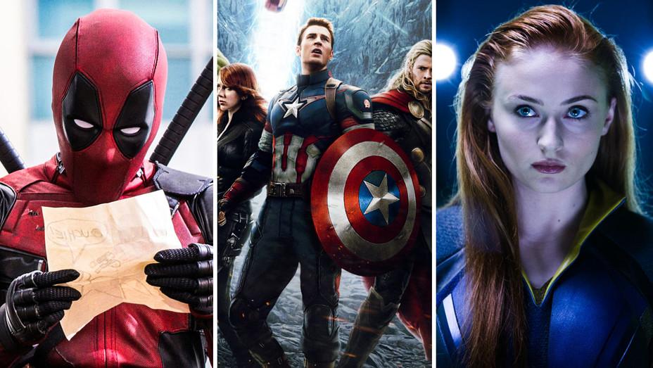 Deadpool, Avengers: Infinity War and X-Men Apocalypse Still - Split - Photofest - H 2017