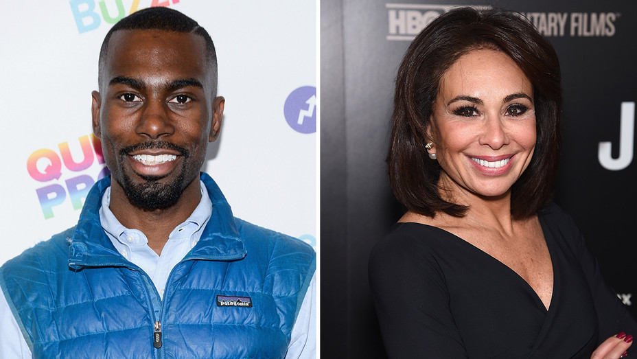 DeRay McKesson_Jeanine Pirro_Split - Getty - H 2017