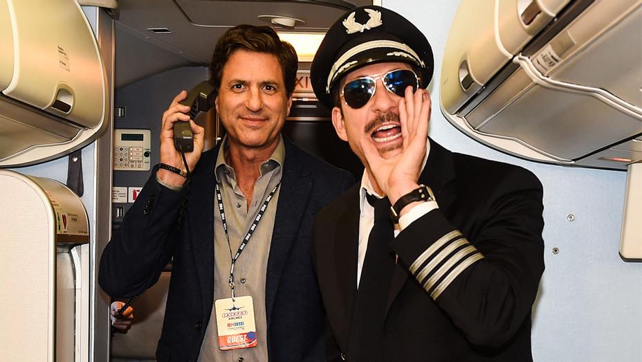 Steve Levitan and Dylan McDermott - LA to Vegas Premiere Party - Publicity - H 2017