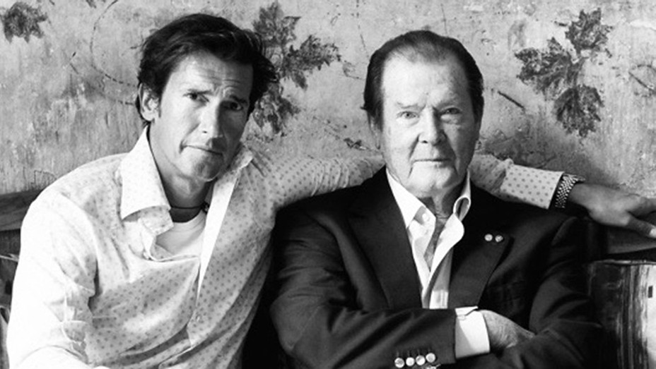 Geoffrey Moore and Sir Roger Moore - Publicity - H 2017