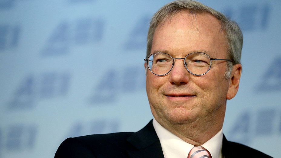Eric Schmidt speaks at the American Enterprise Institute March 18, 2015 -Getty-H 2017