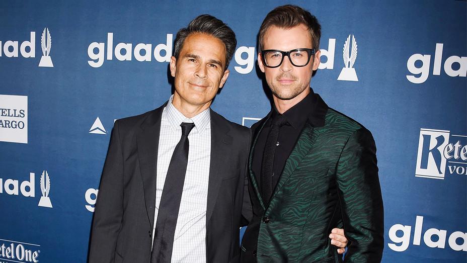 Gary Janetti and Brad Goreski - 27th Annual GLAAD Media Awards - Getty - H 2017