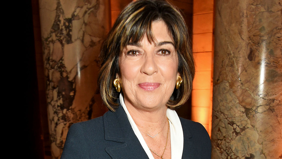 Christiane Amanpour attends as PORTER hosts a special performance of Letters Live - Getty -H 2017