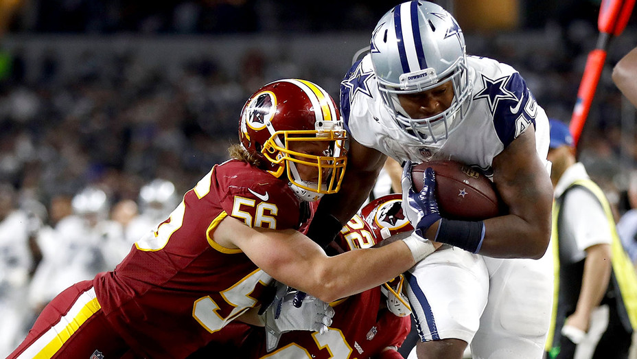 Redskins and Cowboys - November 30, 2017 game- Getty-H 2017