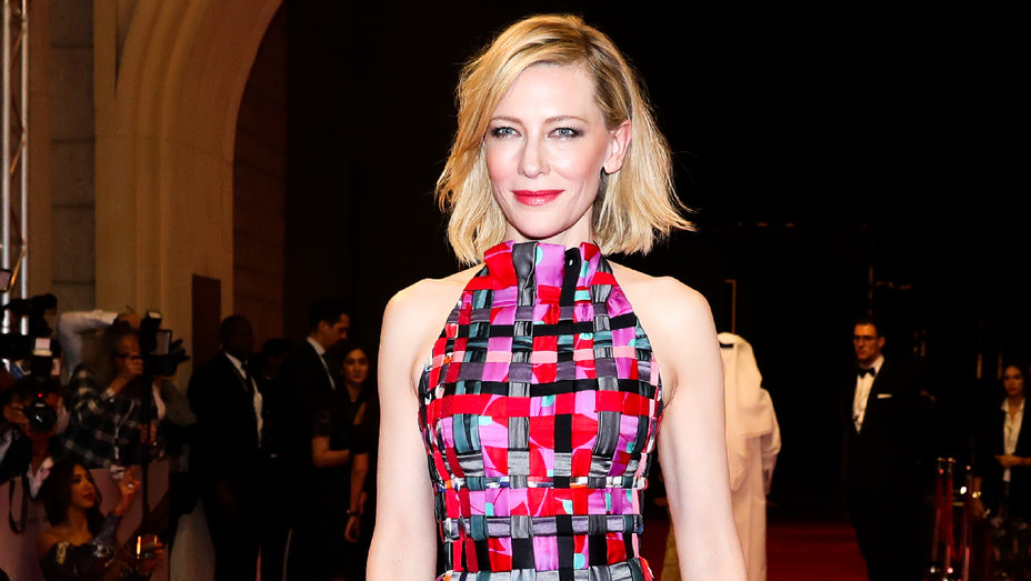 Cate Blanchett - 2017 Dubai International Film Festival Day 1 - Getty - H 2017