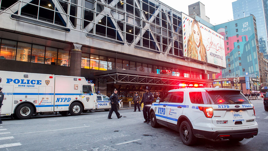 Police - respond to a reported explosion at the Port Authority Bus Terminal on December 11, 2017 - Getty-H 2017
