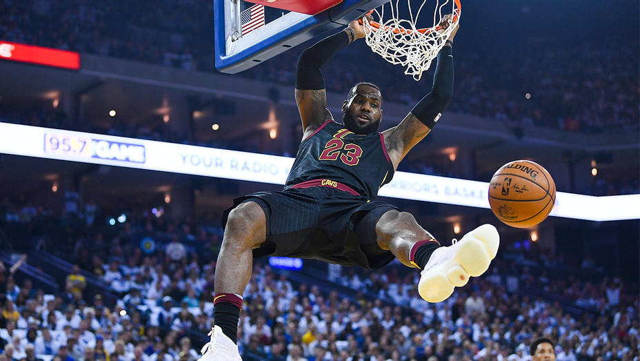 Lebron James - December 25 2017 Cavaliers v Golden State Warriors - Getty - H 2017