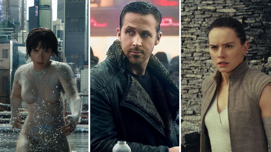 Ghost in the Shell_Blade Runner 2049_Star wars- the last jedi_Split - Publicity - H 2017