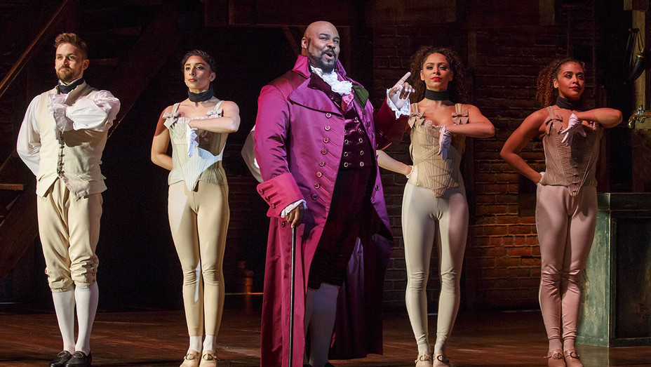 Hamilton Broadway Production Still 1 - Publicity - H 2017