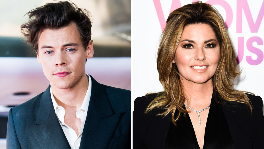 Harry Styles and Shania Twain - Split - Getty - H 2017