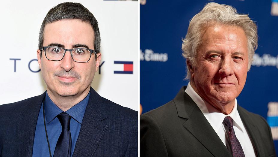 John Oliver and Dustin Hoffman-Split- H 2017