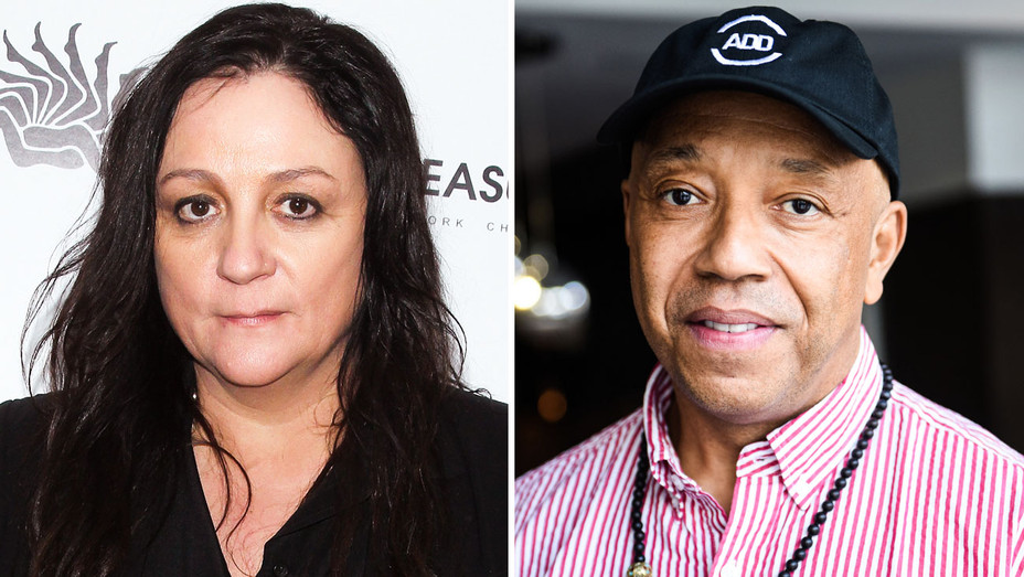 Kelly Cutrone and Russell Simmons - Split - Getty - H 2017