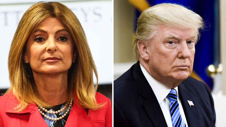 Lisa Bloom and Donald Trump - Split - Getty - H 2017